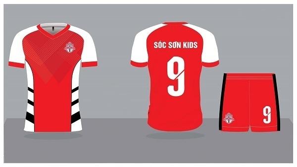 Mẫu đồng phục bóng đá 2