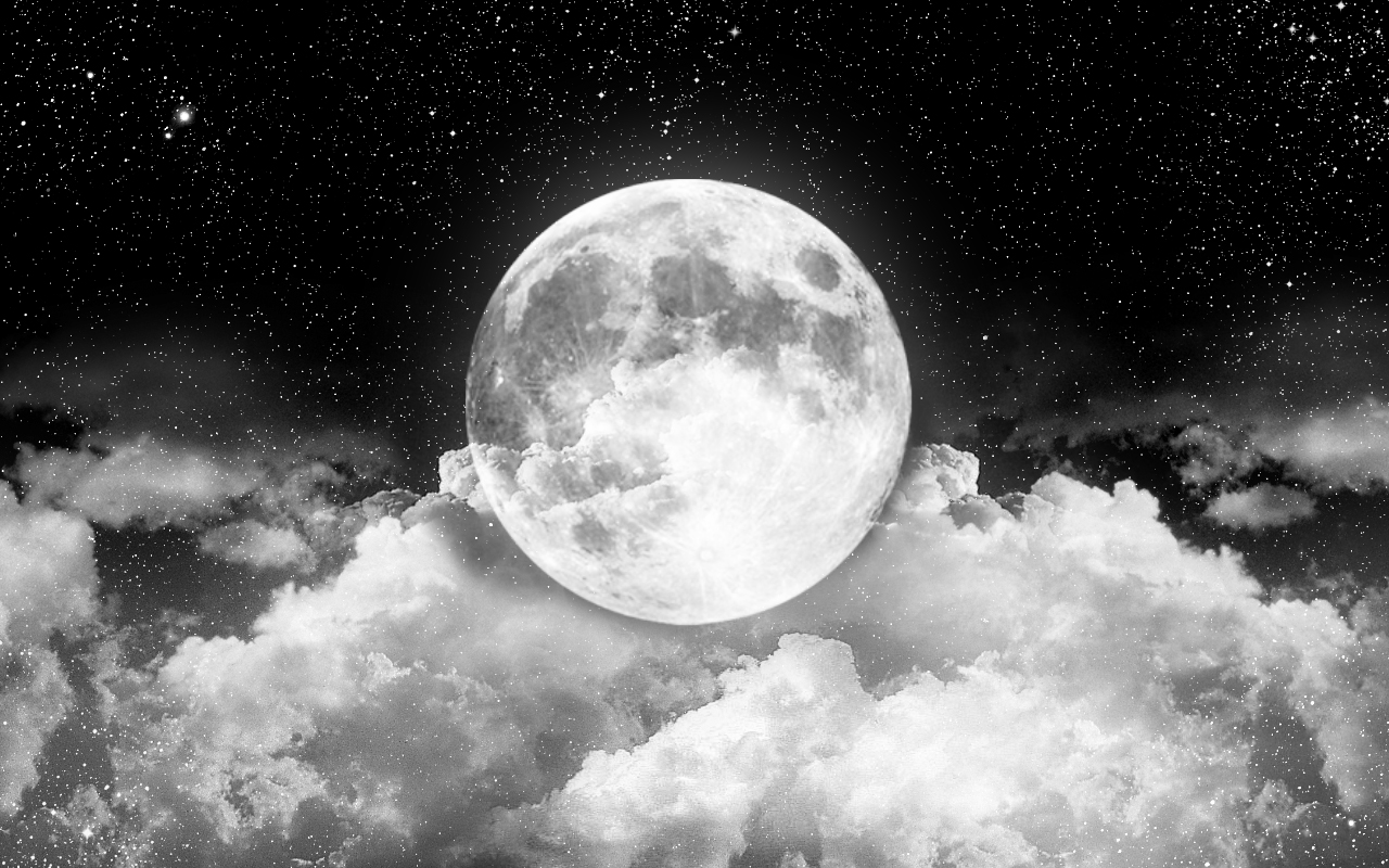 White Moon Wallpapers