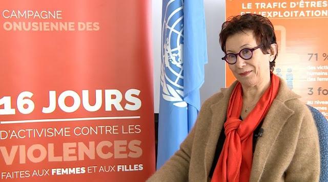 العنف ضد المرأة: تحديث مع ليلى الريوي ، ممثلة هيئة الأمم المتحدة للمرأة في المغرب (مقابلة)