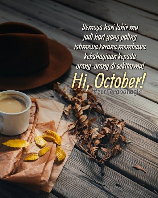 Rahsia Dan Personaliti Tarikh Kelahiran Bulan Oktober