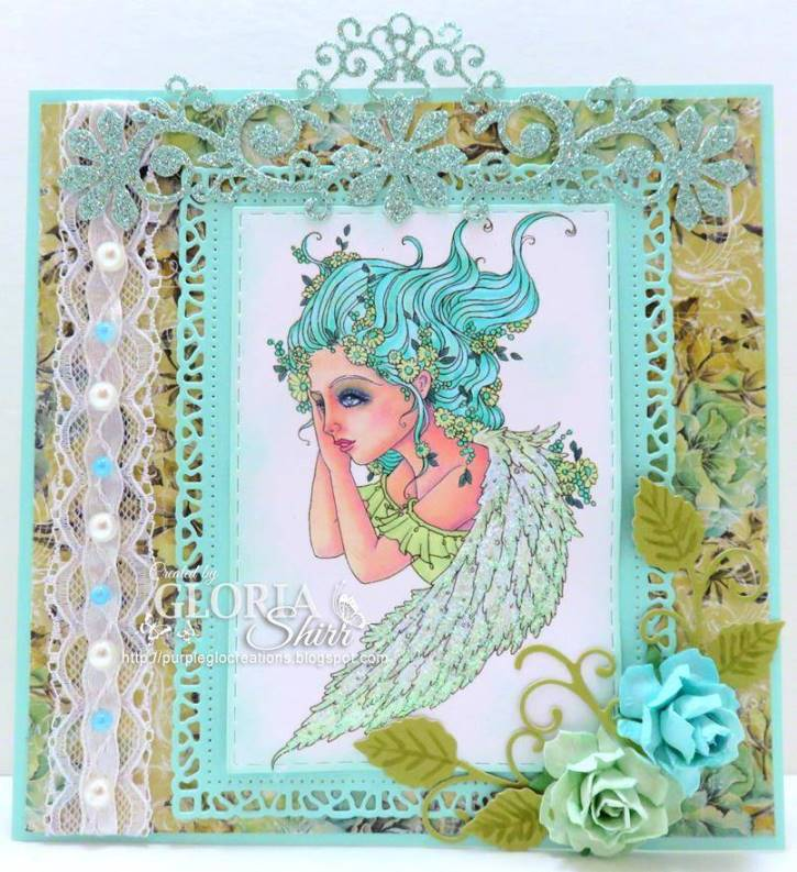 Featured Card - Winner at Through The Craft Room Door Challenge