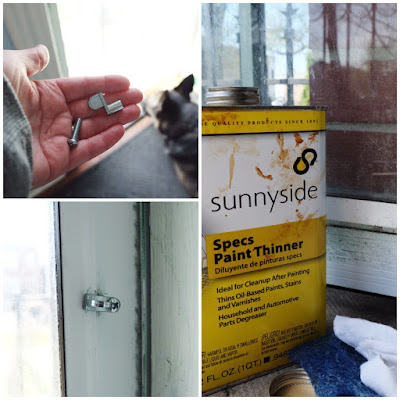 diy door storm replacement clip paint removal