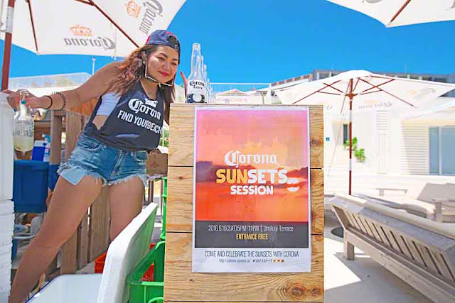 sign, sunsets session, girl, Corona beer