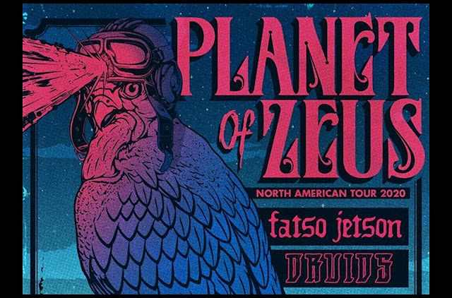 [News] Planet of Zeus North American tour 2020