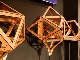 LEONARDO INTERACTIVE MUSEUMに展示された多面体