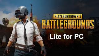 تحميل لعبة بابجي لايت للكمبيوتر  Download PUBG lite PC- تحميل العاب