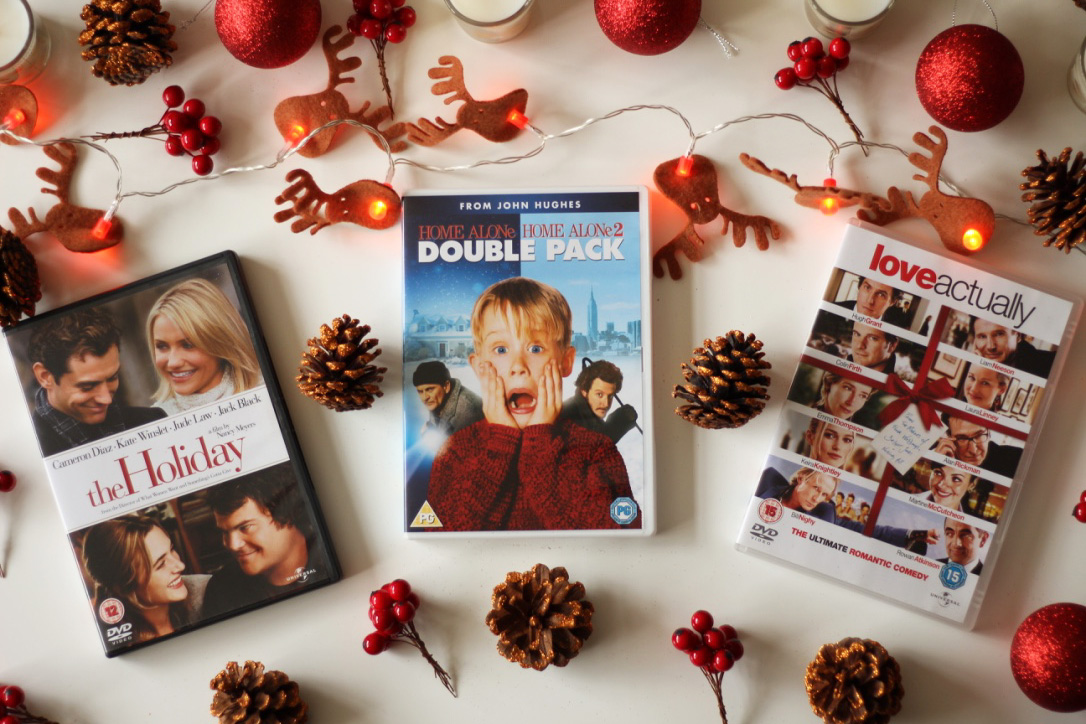 The Holiday, Home Alone 1, Home Alone 2, Love Actually