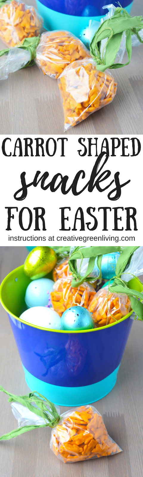 Healthy easter basket idea cheddar bunny carrot shaped treat bags i hope you loved this healthy easter snack idea negle Gallery