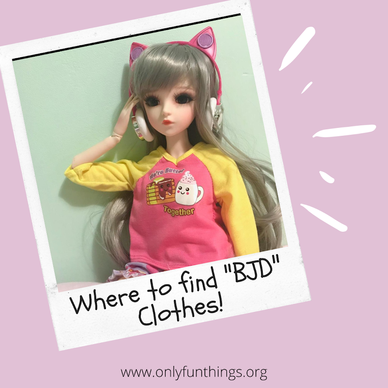 Where to Find 1/3 BJD Clothing