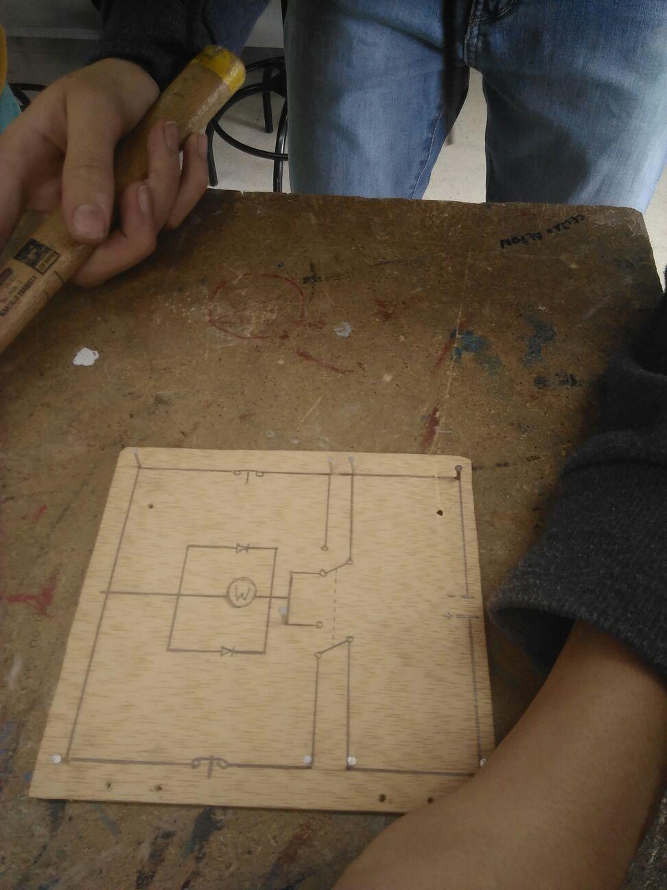 Diario de construcci n de puerta de garaje - Proyecto puerta de garaje ...