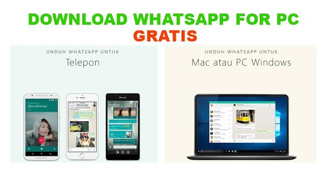 Download Aplikasi Whatsapp Web for PC terbaru geratis