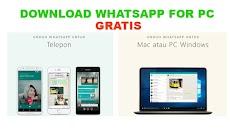 Download Aplikasi Whatsapp Web for PC Terbaru
