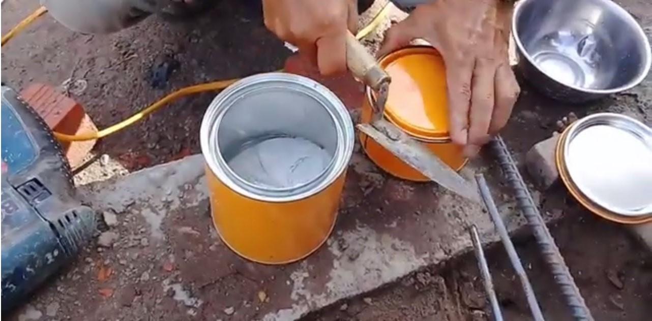 Keo cấy sắt thép - loại hóa chất thông dụng nhất hiện nay