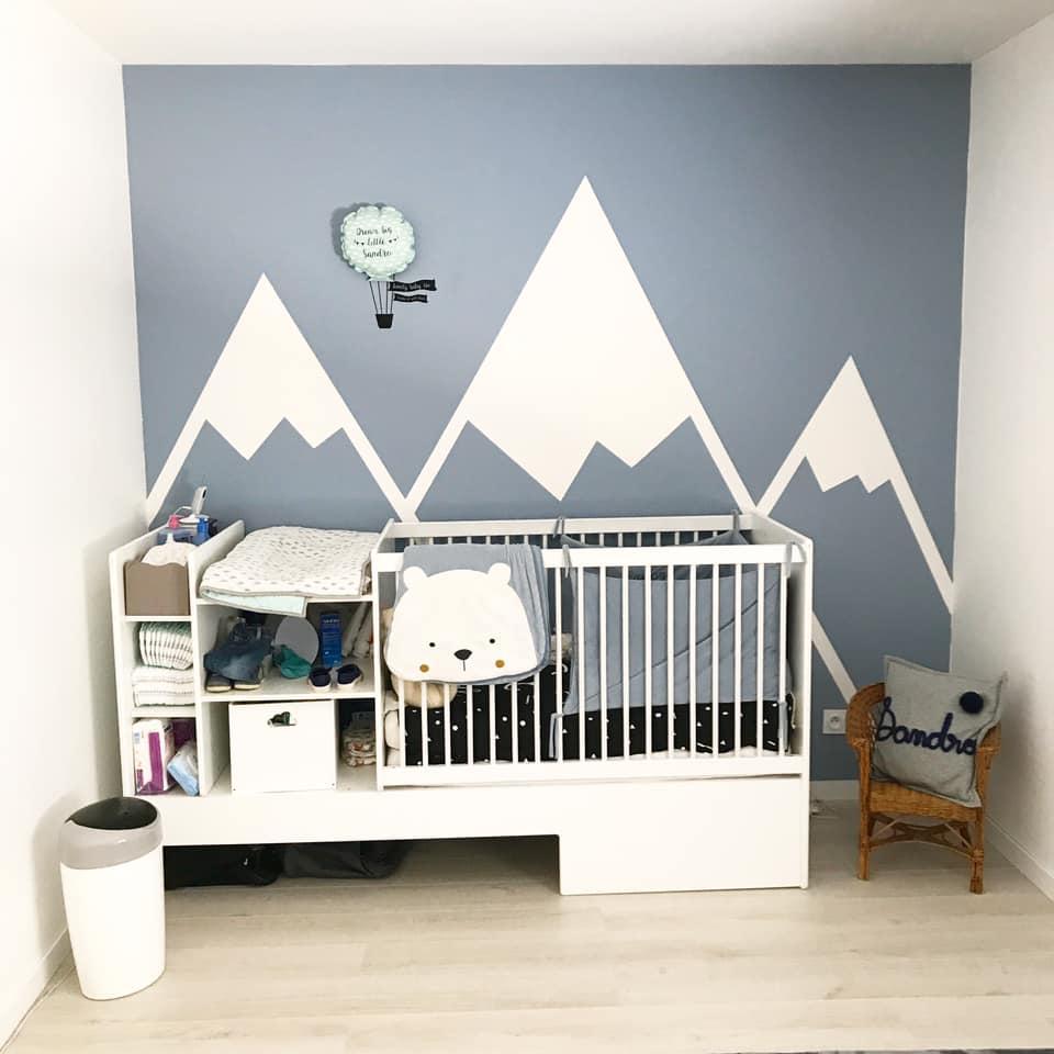 DIY : une peinture décorative pour chambre d\'enfant ...