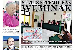 Tabloid Lelemuku #44 - Status Kepemilikan Weminak - 7 Juni 2021