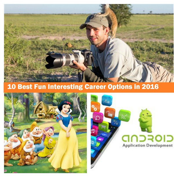 Best career options 2016