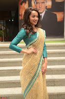 Tejaswi Madivada looks super cute in Saree at V care fund raising event COLORS ~  Exclusive 079.JPG