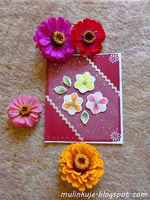 Urodzinowe kwiaty Marzeny