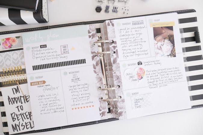 Heidi Swapp Memory Planner | Planner Intentions by Jamie Pate | @jamiepate for @heidiswapp