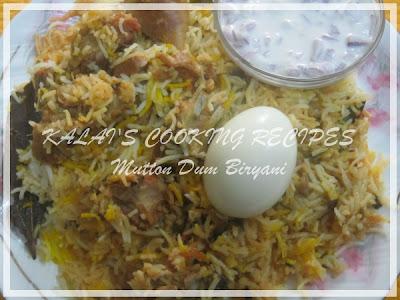 Kalai's MuttonDum Biryani