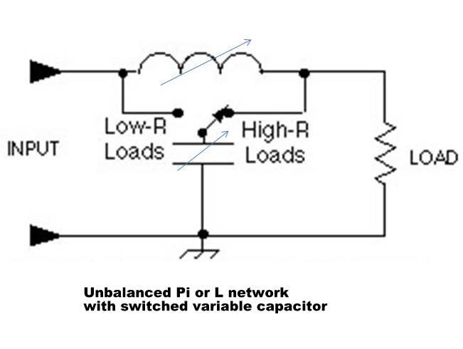 random wire antenna tuner schematic