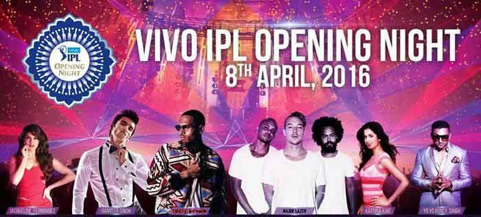IPL Live Opening Ceremony