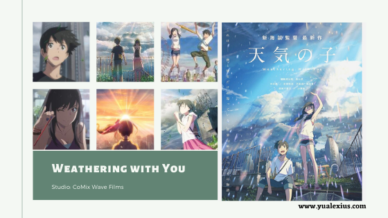 Weathering With You Anime Movie 2019