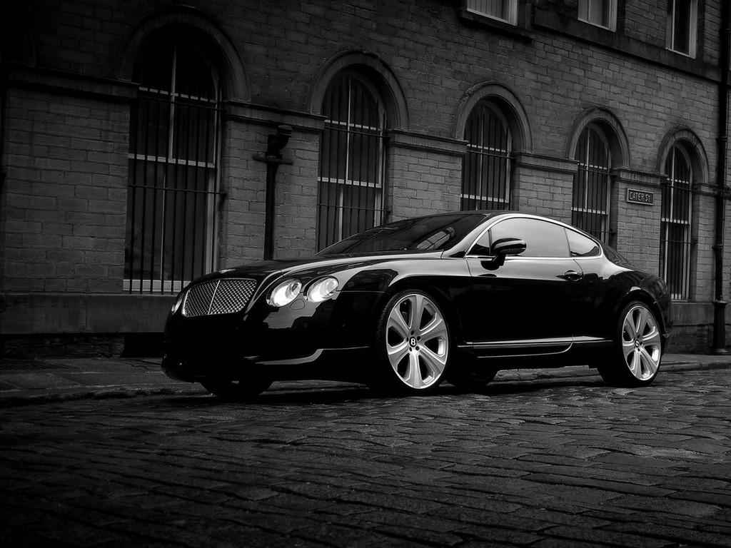 Cars World: Bentley Continental GT Black