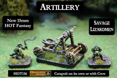 HOT136 Savage Lizardmen crew and Catapult released