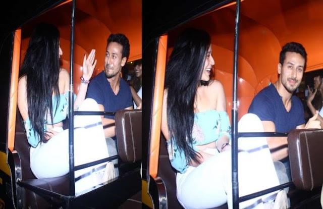 Bollywood: Tiger Shroff takes Krishna Shroff out for dinner