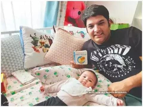 kapil-sharma-and-his-beloved-daughter-went-viral-on-social-media