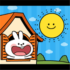 [Animation] Rabbit & Smile Happy Day
