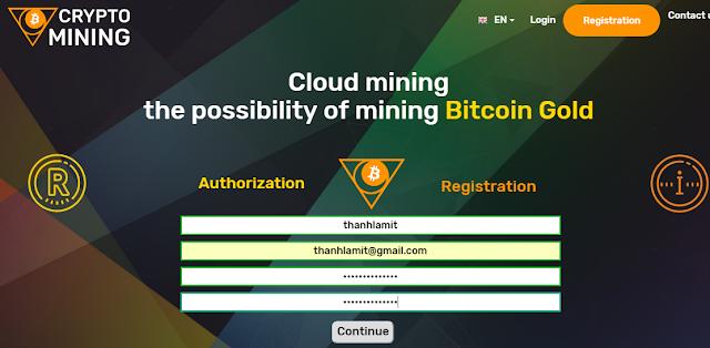 Đăng ký Crypto Mining