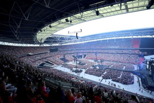 BTS, Wembley Stadyum konserini tamamladı