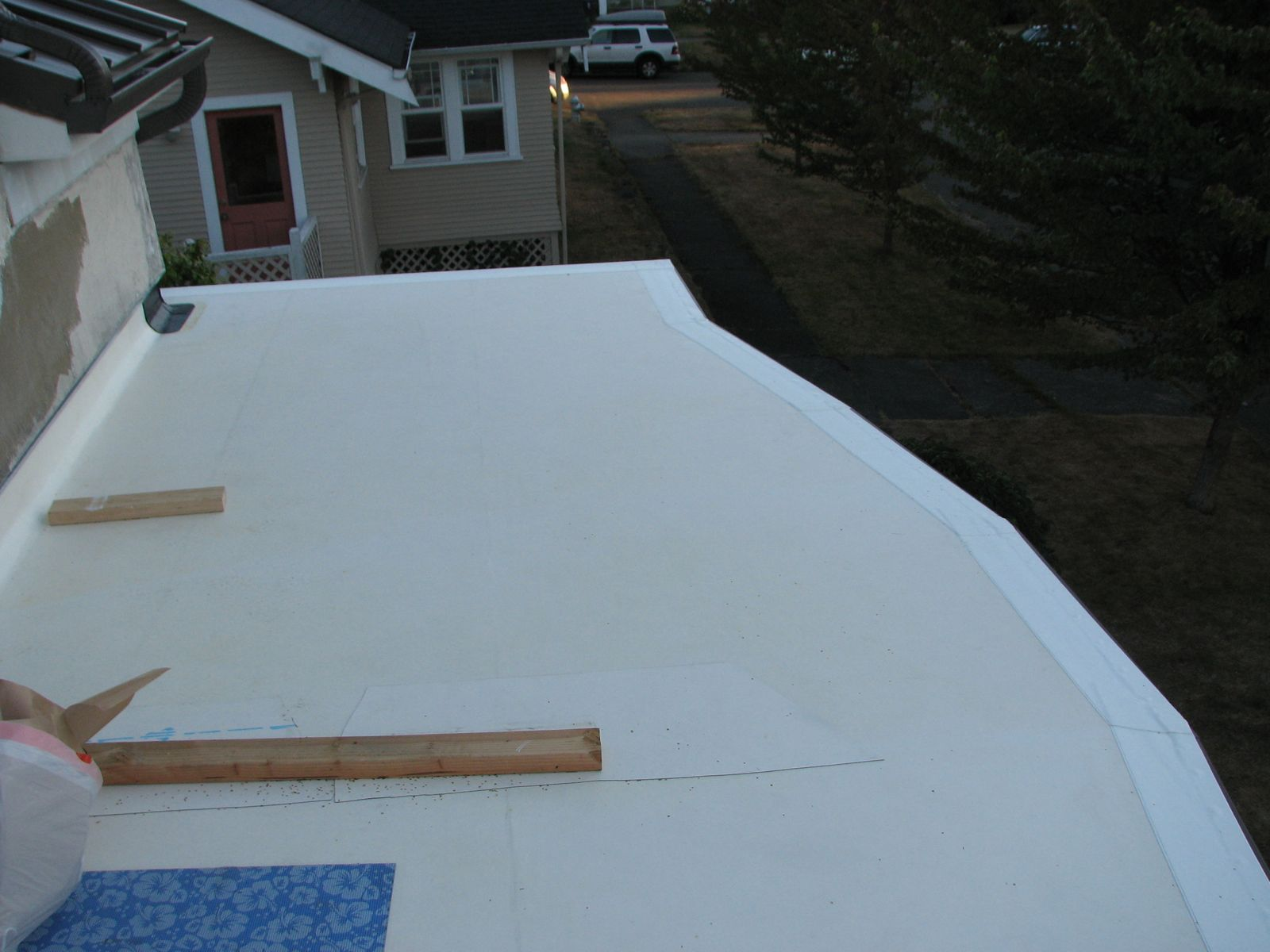 Balcony Part Ii Or Wood Deck Over Epdm Deck On Sleepers