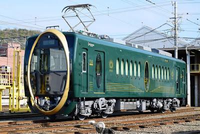 Eizan Electric Railway apresentou o trem Hiei