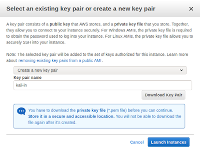 creating key pair