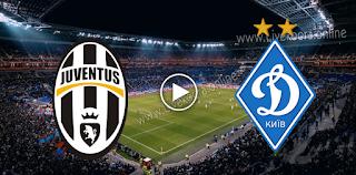 مشاهدة مباراة دينامو كييف ويوفنتوس بث مباشر بتاريخ 20-10-2020 في دوري أبطال أوروبا