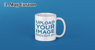 Mug Custom merupakan salah satu rekomendasi souvenir spesial di hari kartini