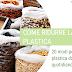 20 modi per RIDURRE la PLASTICA