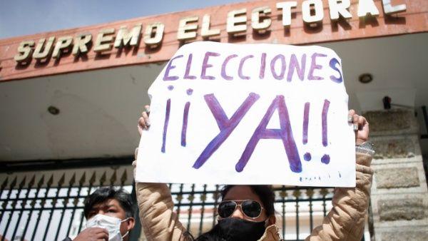 Dos voceros electorales de Bolivia se oponen a demorar comicios