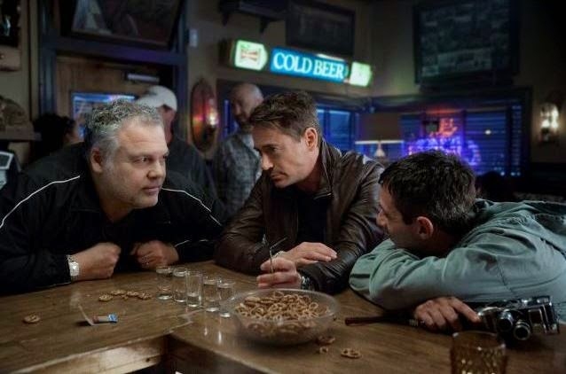 Vincent D'Onofrio, Jeremy Strong, Robert Downey Jr in The Judge, Palmer Siblings, Directed by David Dobkin