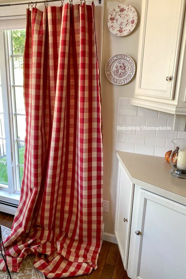 Making Long Curtain Panels