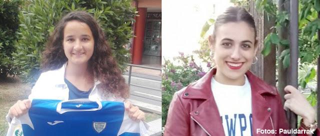 Fútbol | El Pauldarrak incorpora a su plantilla a las jugadoras Ana Moro y Maialen Martínez