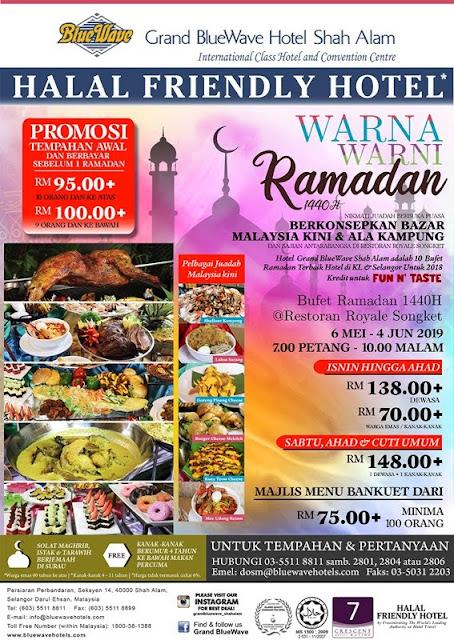 Warna Warni RAMADAN BUFFET 2019 Promotion Price Menu