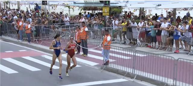 Nicola Spirig e Gwen Jorgensen final triatlo 2016