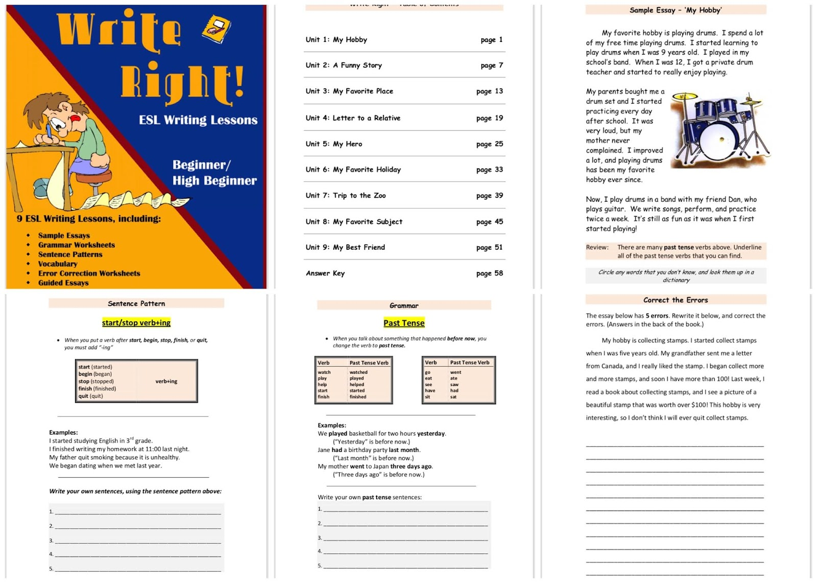 Download Wright Right multi-skills writing book for beginner