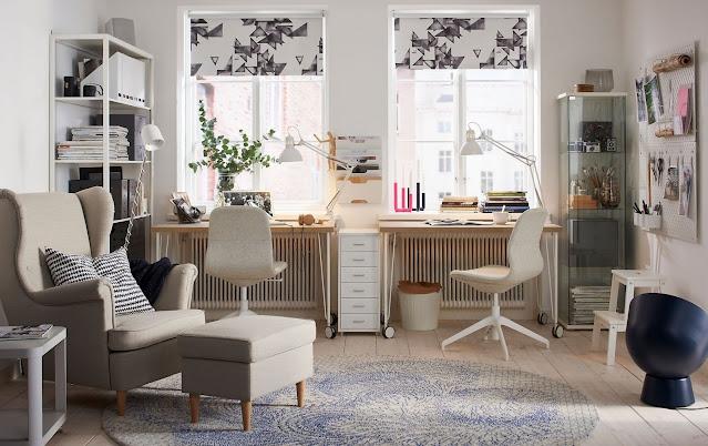 home office living room design ideas