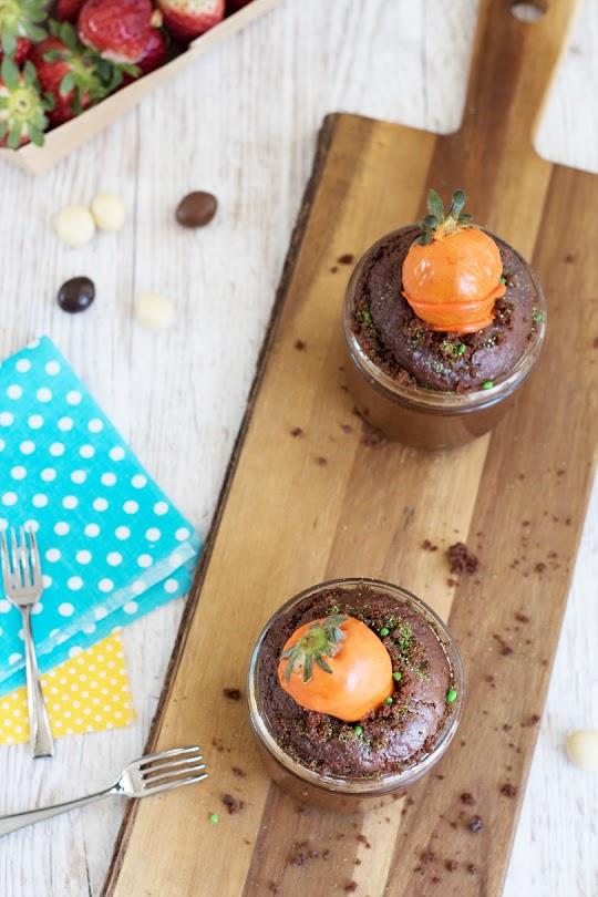 recette Cupcakes chocolat fraises