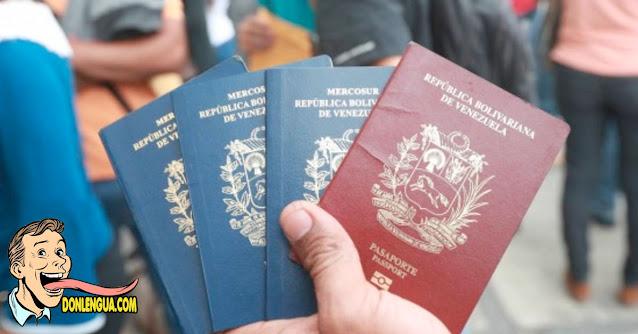 Cobraban 1200 dólares por la prórroga del pasaporte y fueron detenidos